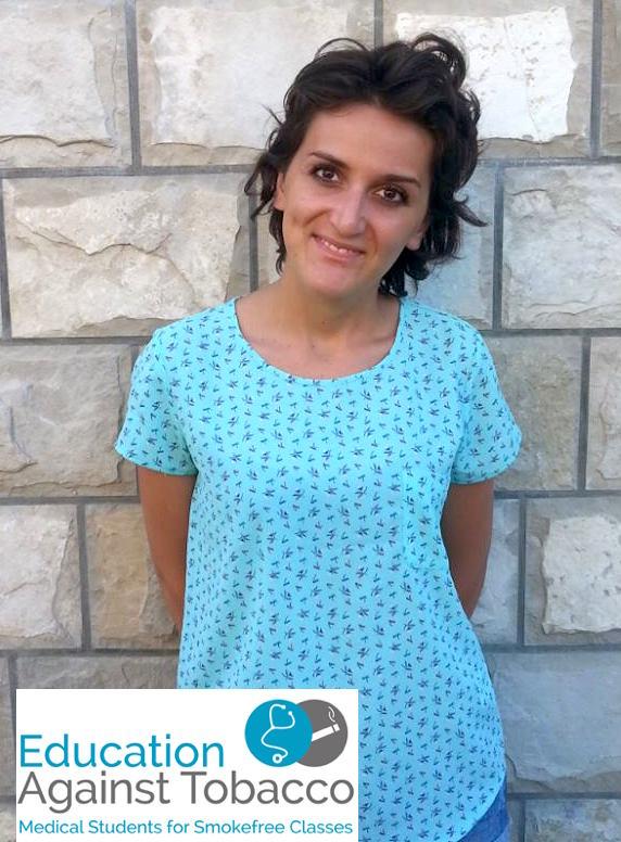 Medical student Irma Ramic (23)