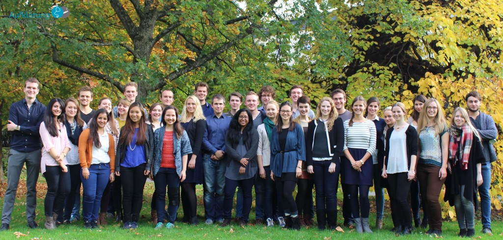 Group leaders in Heidelberg (24th of October 2015)