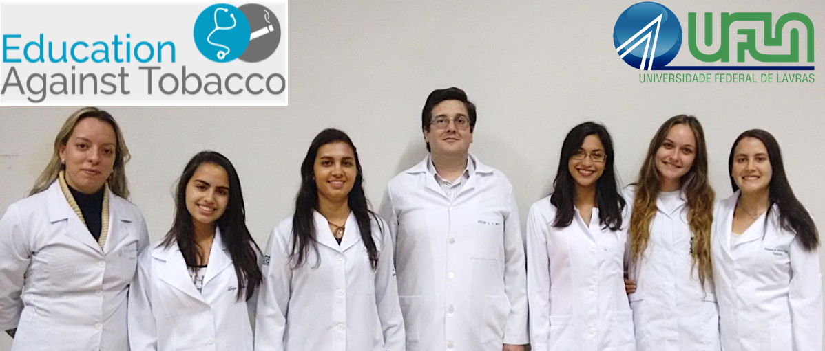 From left to right: Prof. Dr. Cynthia, students Luiza and Daiana, Prof. Dr. Vitor, students Luana, Kalyne and Amanda. School of Medicine at Federal University of Lavras (UFLA), Brazil.