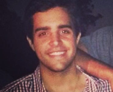 Manuel Mendive; medical student from Uruguay